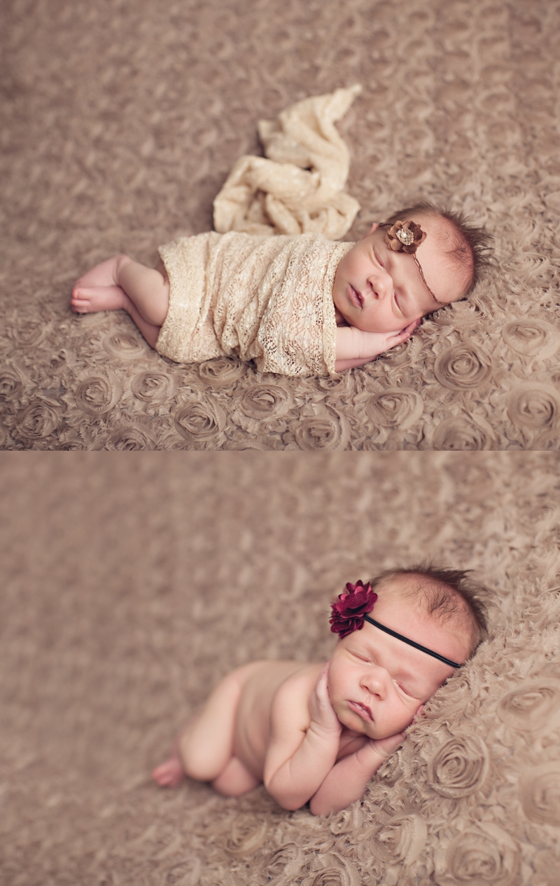 baby girl brown headband