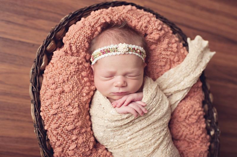 baby girl pink blanket